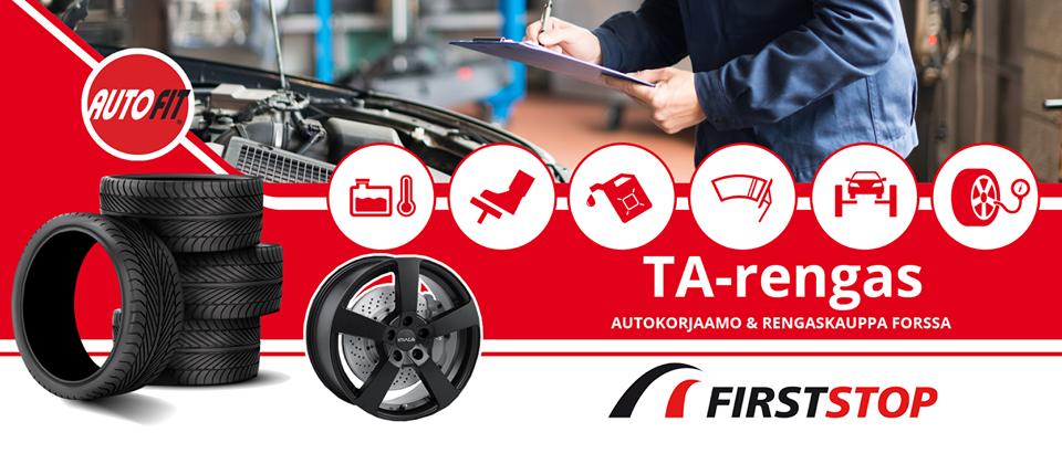 TA-Rengas Forssa - Rengas- ja autohuoltopalvelut